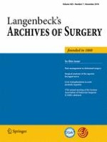 Langenbeck's Archives of Surgery 7/2018
