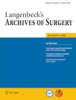 Langenbeck's Archives of Surgery 1/2020