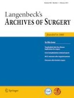 Langenbeck's Archives of Surgery 1/2021