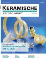 Keramische Zeitschrift 4/2018