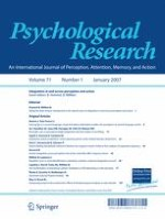 Psychological Research 1/2007