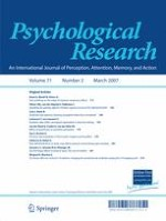 Psychological Research 2/2007