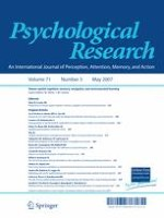 Psychological Research 3/2007