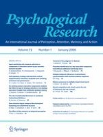 Psychological Research 1/2008