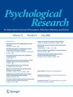 Psychological Research 4/2008