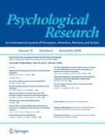 Psychological Research 6/2008