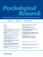 Psychological Research 1/2009