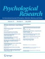 Psychological Research 4/2009