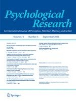Psychological Research 5/2009