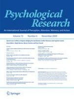 Psychological Research 6/2009