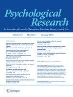 Psychological Research 1/2010