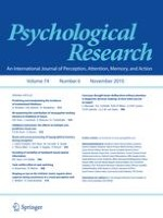 Psychological Research 6/2010