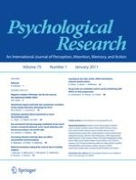 Psychological Research 1/2011