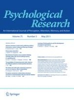 Psychological Research 3/2011