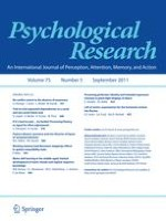 Psychological Research 5/2011