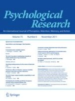 Psychological Research 6/2011