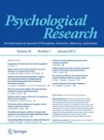 Psychological Research 1/2012