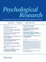 Psychological Research 5/2012