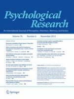 Psychological Research 6/2012