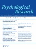 Psychological Research 1/2013