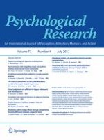 Psychological Research 4/2013