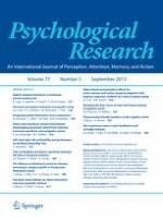 Psychological Research 5/2013