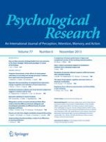 Psychological Research 6/2013