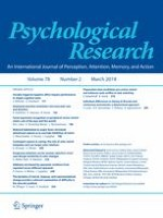 Psychological Research 2/2014
