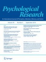 Psychological Research 5/2014