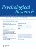 Psychological Research 6/2014