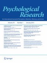 Psychological Research 1/2015