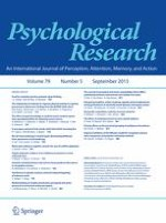 Psychological Research 5/2015