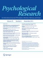 Psychological Research 6/2015
