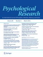 Psychological Research 2/2016