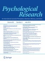 Psychological Research 4/2016