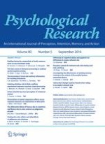 Psychological Research 5/2016