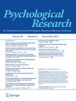 Psychological Research 6/2016