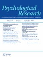 Psychological Research 5/2017
