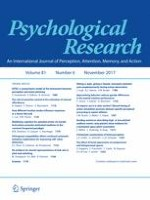 Psychological Research 6/2017