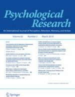 Psychological Research 2/2018