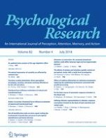 Psychological Research 4/2018