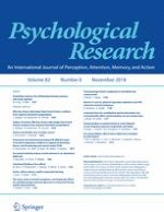Psychological Research 6/2018