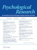 Psychological Research 5/2019