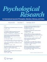Psychological Research 7/2019