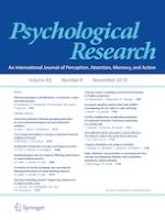 Psychological Research 8/2019