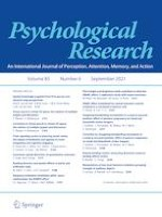 Psychological Research 6/2021