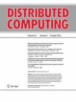 Distributed Computing 5/2016