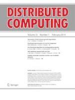 Distributed Computing 1/2019