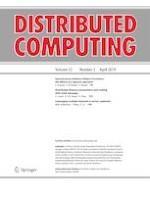 Distributed Computing 2/2019