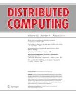 Distributed Computing 4/2019